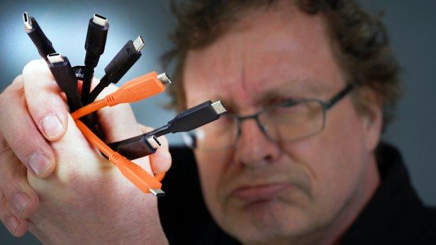 USB-C: let hier op als je nieuwe kabels koopt