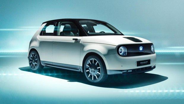 Honda toont 'schattige' elektrische stadsauto