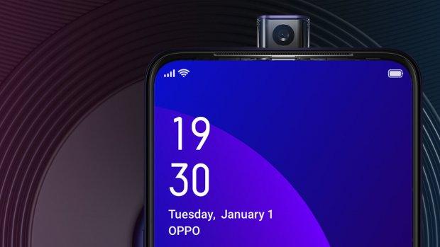 Nieuwe Oppo-smartphone heeft popup-selfiecamera