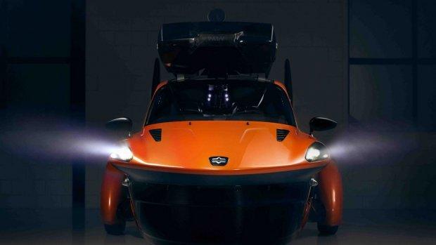 Nieuwe versie Nederlandse vliegende auto onthuld