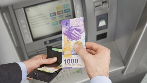 Omstreden Zwitsers 1000 frankbiljet krijgt een make-over