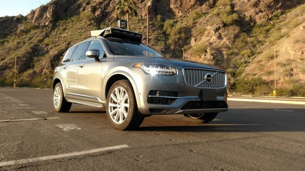 Uber krijgt investering van 1 miljard voor zelfrijdende auto's