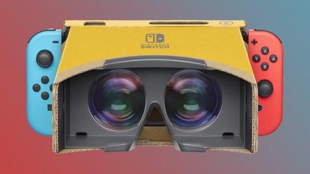 Ook Super Mario Odyssey in VR dankzij Labo VR Kit