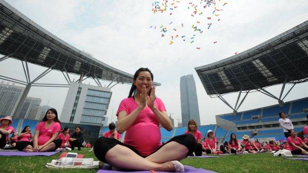 Database toont of Chinese vrouwen 'klaar voor voortplanting' zijn