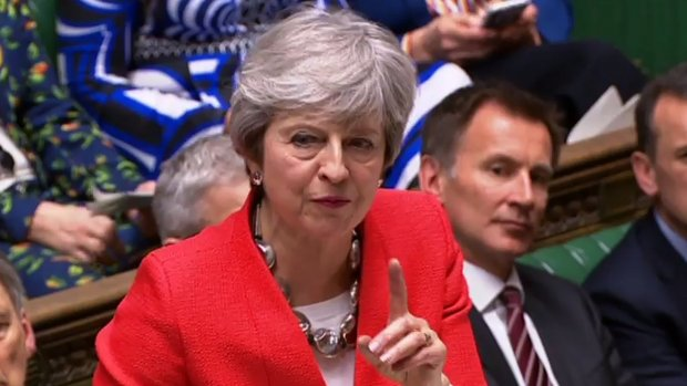 Kijk mee: Brits parlement stemt over brexitdeal May