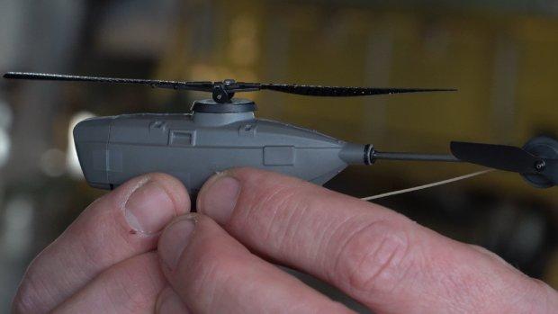 Mini-drones en een vliegende motor bij Defensie