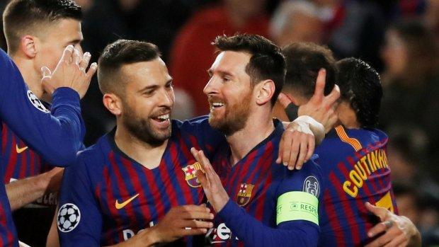 FC Barcelona makkelijk door naar de kwartfinale
