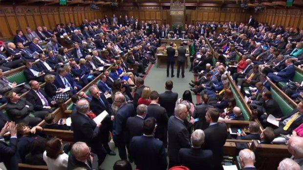 Brits parlement stemt voor uitstel brexit