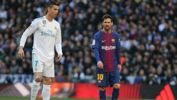 Complimenten Messi voor Ronaldo