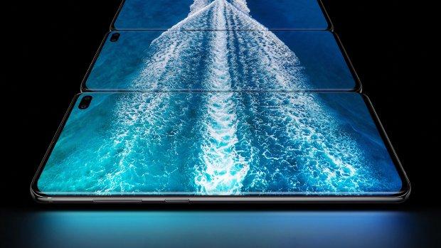 Samsung werkt aan smartphone met camera onder het scherm