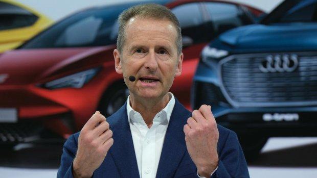Volkswagen topman verliest steun na 'Ebit macht frei'- uitspraak