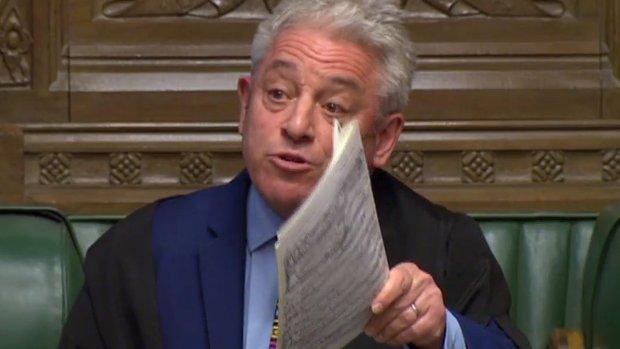'Geen nieuwe stemming over zelfde brexitvoorstel'