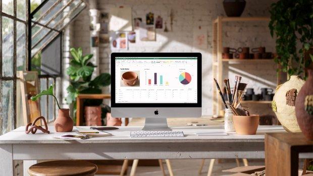 Apple voorziet iMacs van nieuwe chips