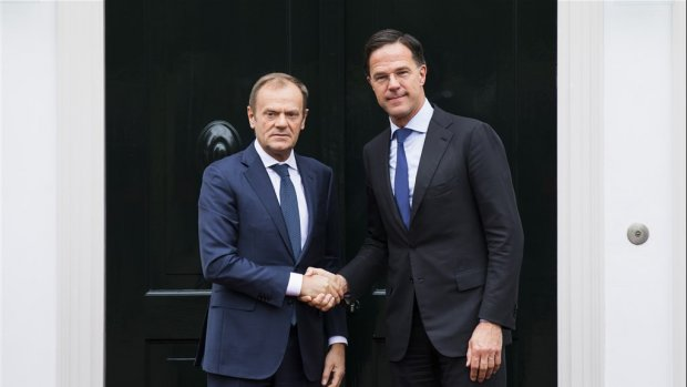 Tusk: uitstel brexit mag, als de deal wordt goedgekeurd