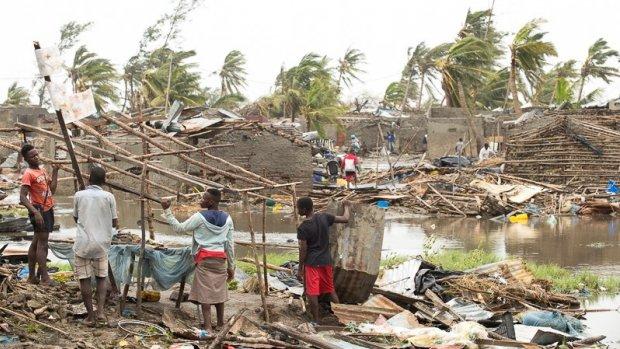 Tweede stad van Mozambique veranderd in 'warzone' na cycloon Idai