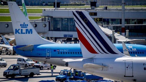 Fransen willen meer aandelen Air France-KLM, Nederland niet