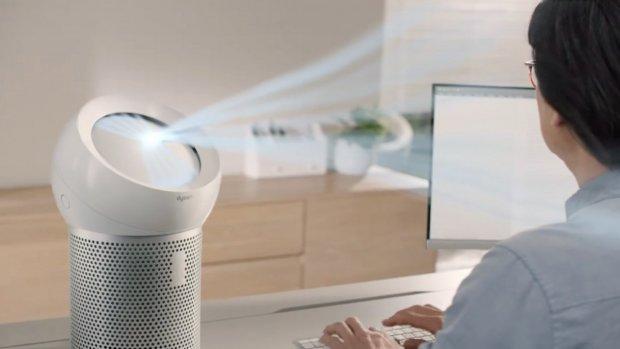 Nieuwe Dyson-ventilator blaast schone lucht op je gezicht