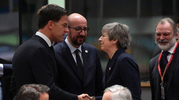 EU geeft May uitstel voor brexit tot 22 mei
