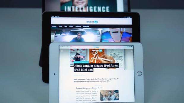 'Apple komt dit jaar met zeven nieuwe iPads'