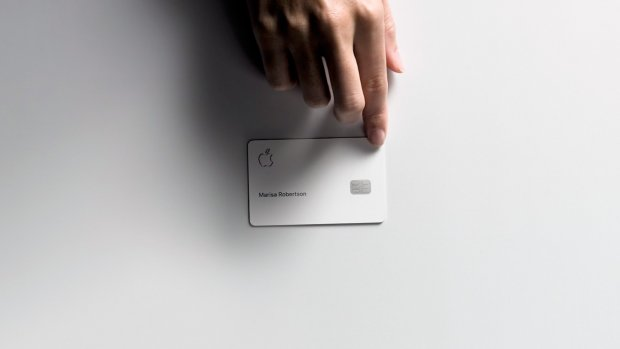 Apple start eigen creditcard Apple Card