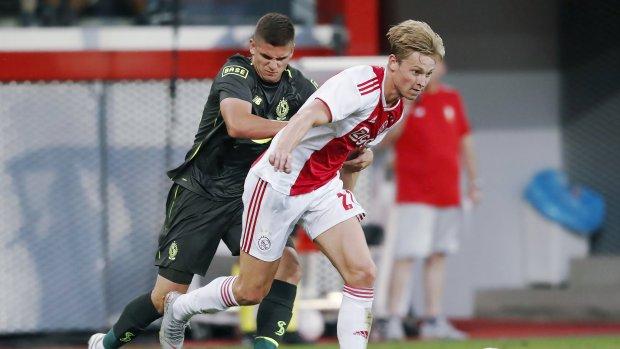 'Ajax heeft opvolger Frenkie de Jong binnen'