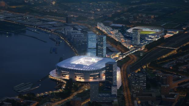 Jaar vertraging: nieuw stadion Feyenoord opent in 2024
