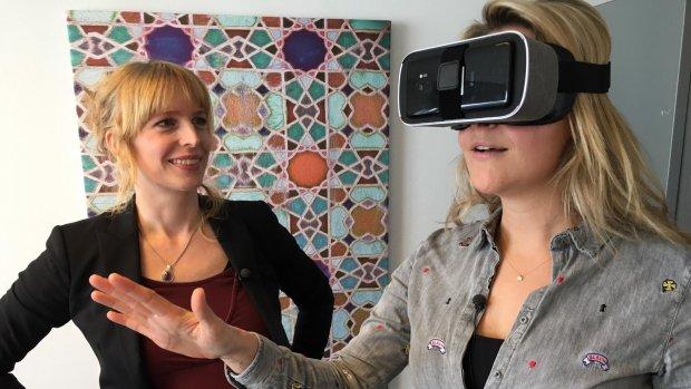 VR-therapeut helpt bij hoogtevrees: 'Levensechte situaties'