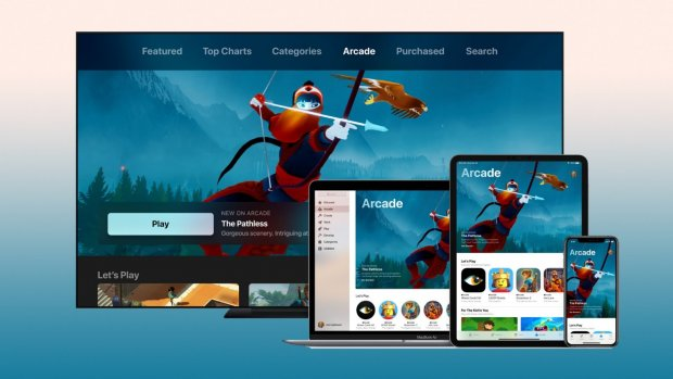 'Game-abonnement Apple Arcade kost 5 dollar per maand'