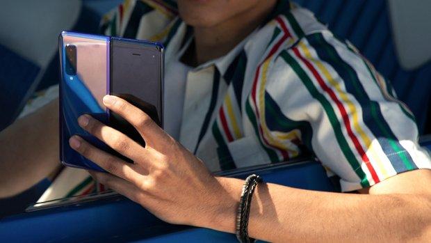 Opvouwbare Samsung-telefoon in mei in Nederland te koop