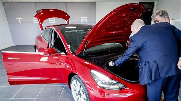 Tesla Model 3 afgelopen maand vaakst op kenteken gezet