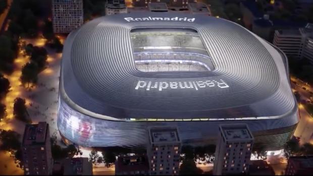 Zo ziet het vernieuwde stadion van Real Madrid eruit