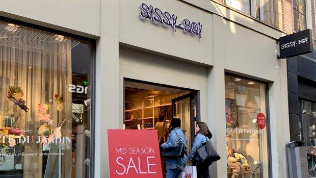 Doek valt voor Sissy-Boy: de modeketen is failliet