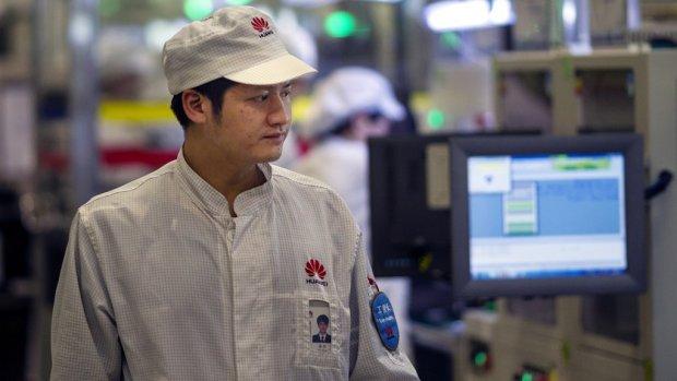 Forse omzetgroei Huawei ondanks zorgen over spionage