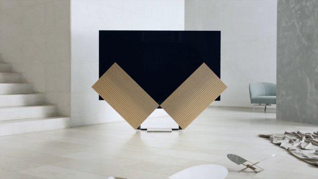 Deze nieuwe oled-tv heeft uitklappende speakers