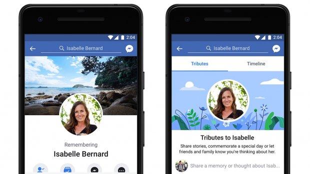 Nieuwe eerbetoonfunctie voor overleden Facebook-gebruikers