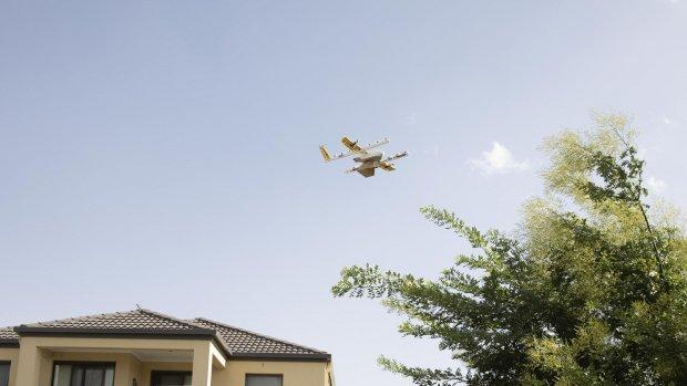 Google-zusterbedrijf mag bezorgdienst met drones lanceren