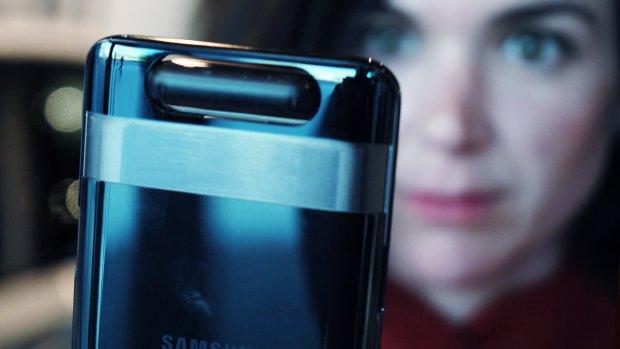 Eerste indruk: Samsung-telefoon met omdraaiende camera