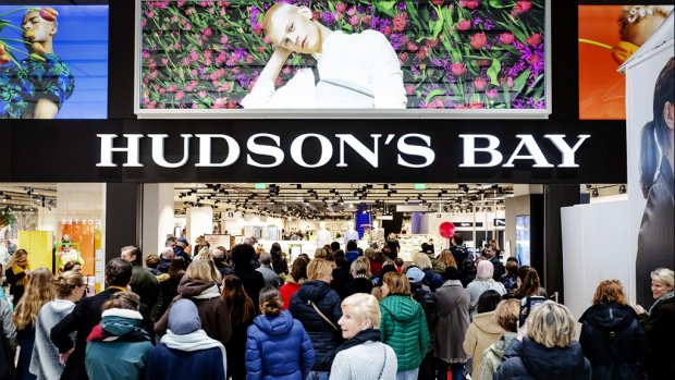'Winkels Hudson's Bay Nederland dreigen nog dit jaar te sluiten'