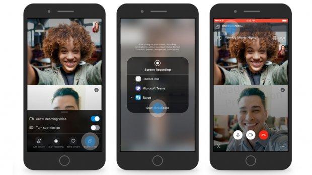 Skype laat je telefoonscherm delen bij videogesprek