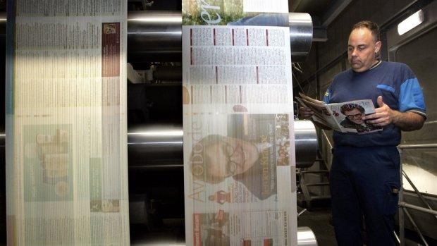 Roto Smeets, drukkerij van Donald Duck, vraagt faillissement aan