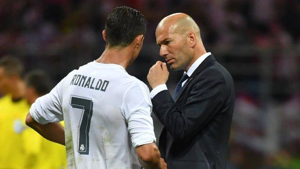 Zidane baalt: 'Ronaldo is weg en hij is onvervangbaar'