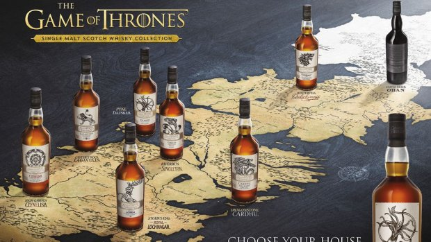 Woekerbedragen voor Game of Thrones-whisky