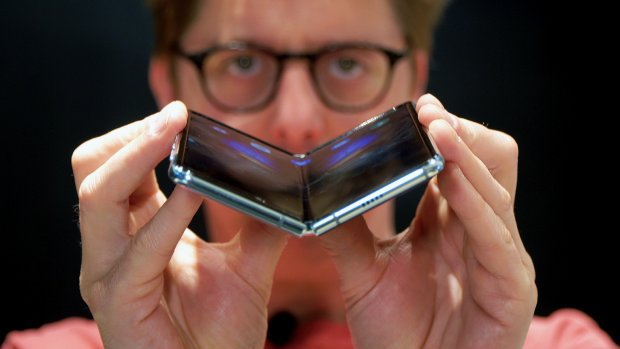 Eerste indruk: opvouwbare Samsung-telefoon Galaxy Fold