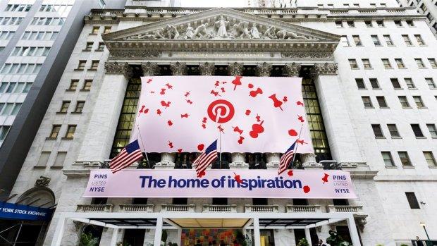 Beleggers scoren met Pinterest: koers 24 procent omhoog