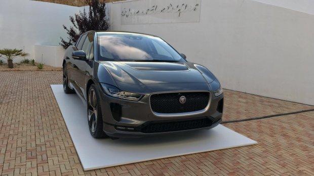 Jaguar I-Pace valt weer in de prijzen