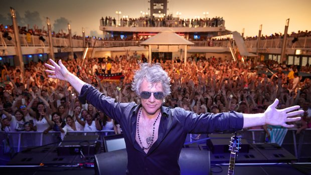 Cruisen met Jon Bon Jovi: themacruises maken opmars in Europa