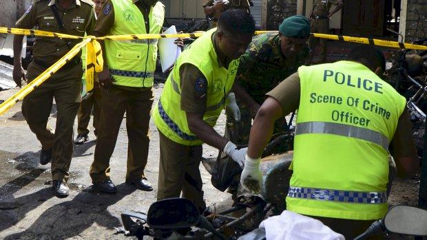 Van minuut tot minuut: aanslagen Sri Lanka