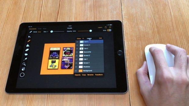 'iPad krijgt ondersteuning voor de muis'