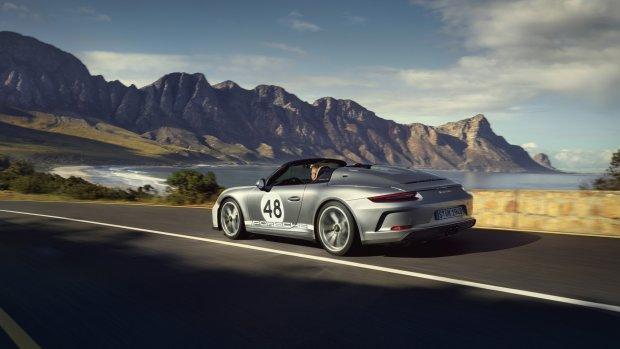 Porsche bouwt Speedster van nieuwe 911