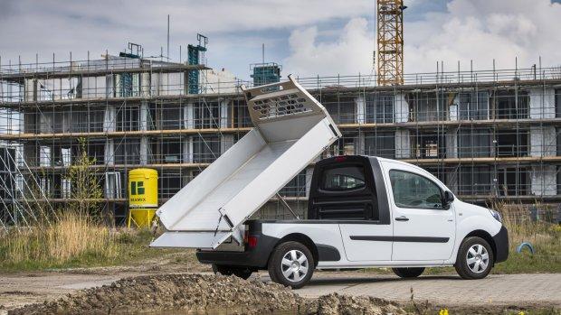 Elektrische pick-up Renault Kangoo te koop